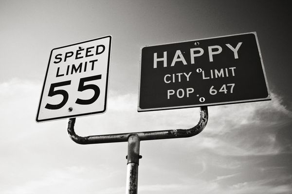 Happy city limit