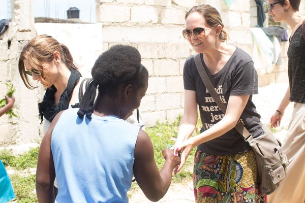 Laura in haiti