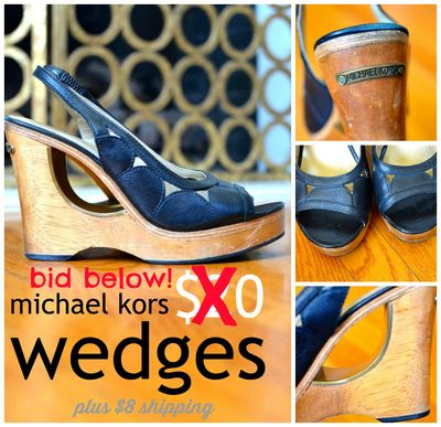 GS4O sale - michael kors wedges2