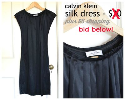 GS4O sale - calvin klein dress2