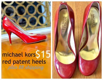 GS4O2 sale - michael kors red patent heels