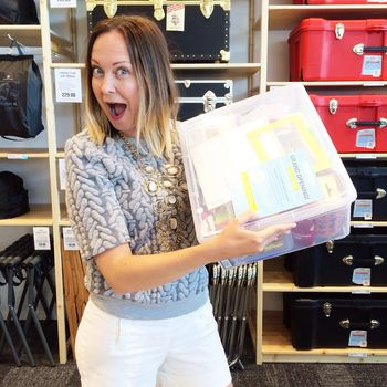Container store grand opening winner
