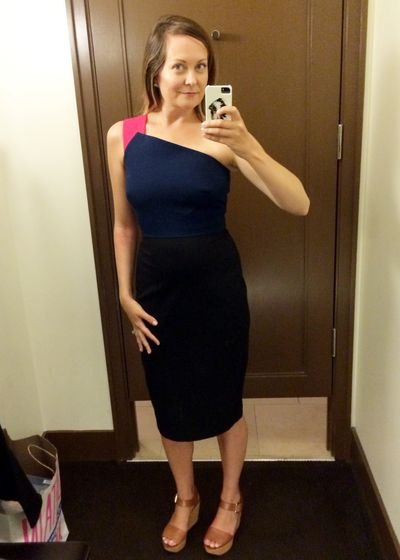 Banana republic roland mouret dress