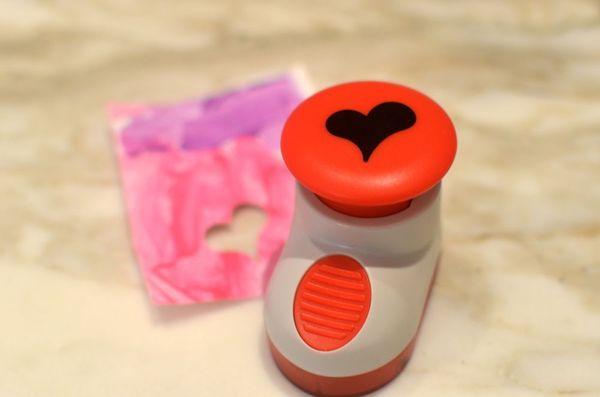 Valentines heart stamp