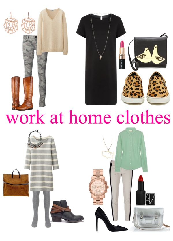 Work at home mom outfits || hollywood housewife