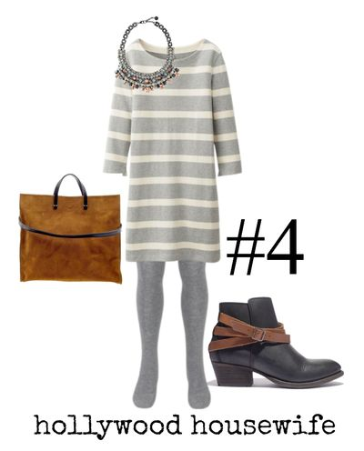 Work at home mom outfit #4 - hollywood housewife