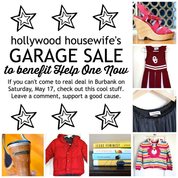 Hollywood Housewife Virtual Garage Sale