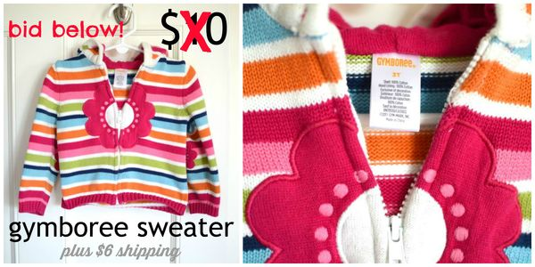 GS4O sale - gymboree girls sweater2