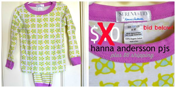 GS4O sale - hanna andersson pjs2