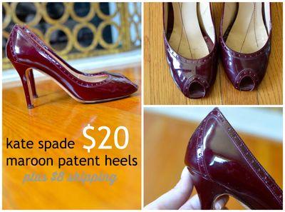 GS4O2 sale - kate spade heels