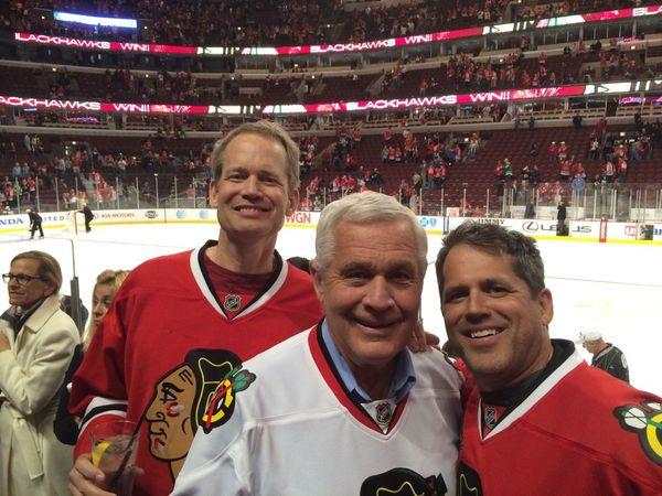Dave hockey game