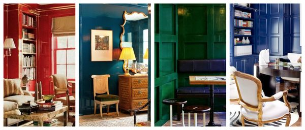 Lacquer wall inspiration
