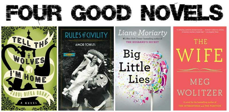 Four Good Novels | Hollywood Housewife