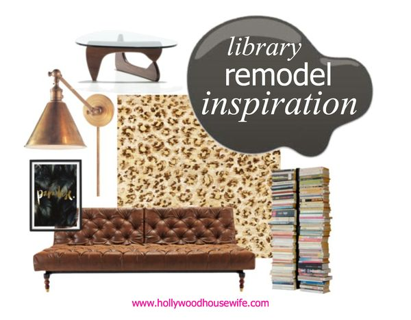 Library remodel inspiration | hollywood housewife