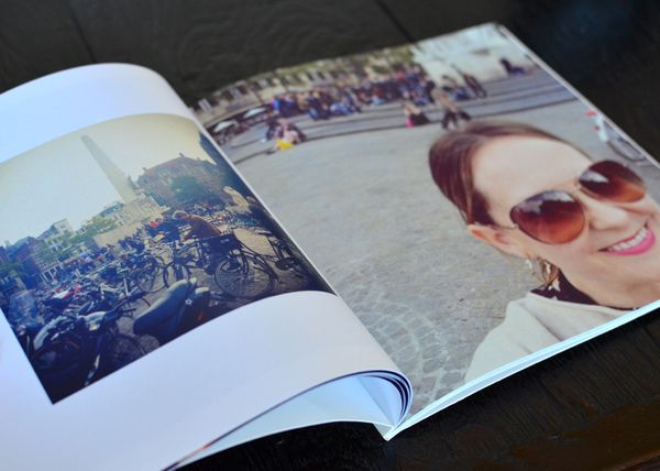 Artifact uprising instagram book inside