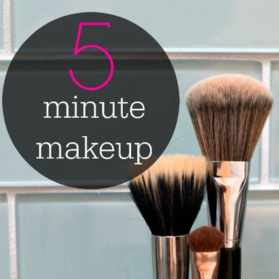 5 minute makeup square