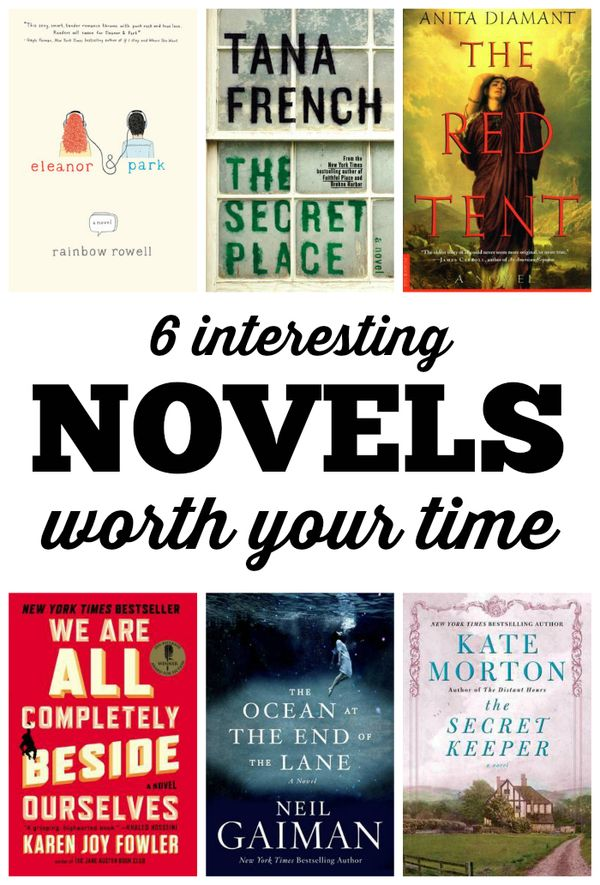 6 interesting and very different novels worth your time | Hollywood Housewife