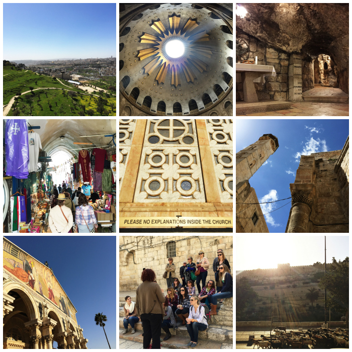 Israel trip sights