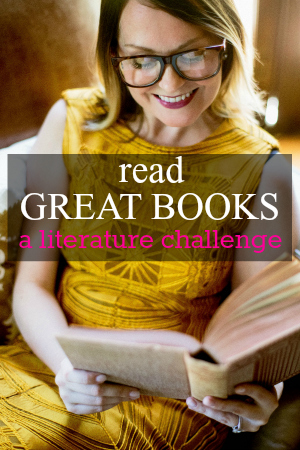 Read great books literature challenge button
