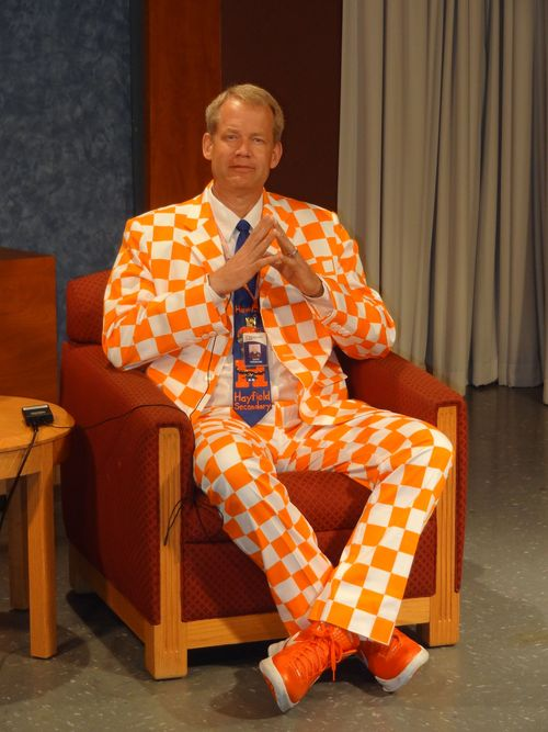Dave checkered suit
