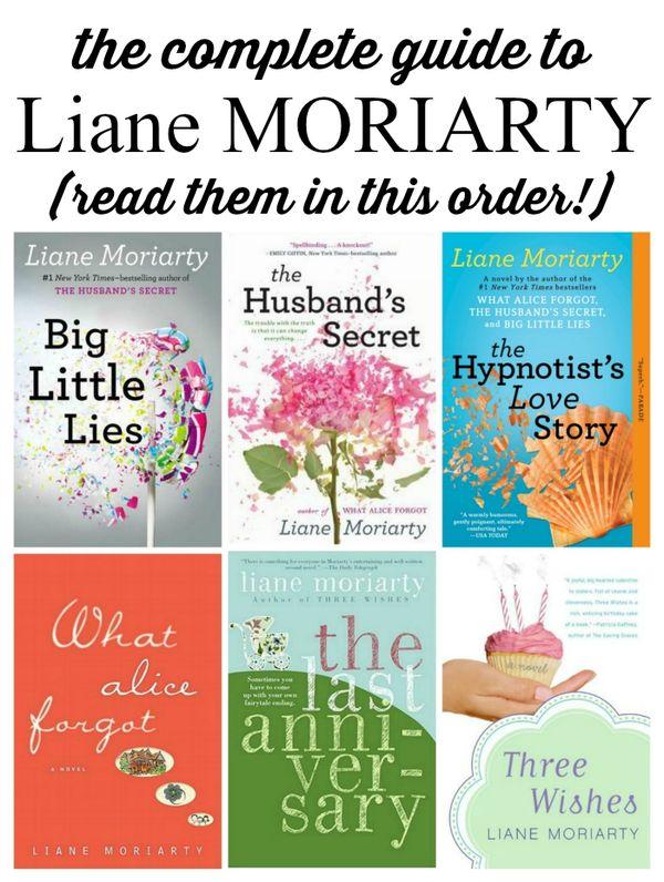 Liane Moriarty book reviews