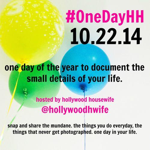 #onedayHH balloons