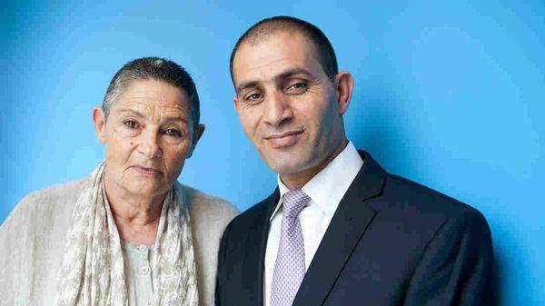 Robi Damelin and Bassam Aramin