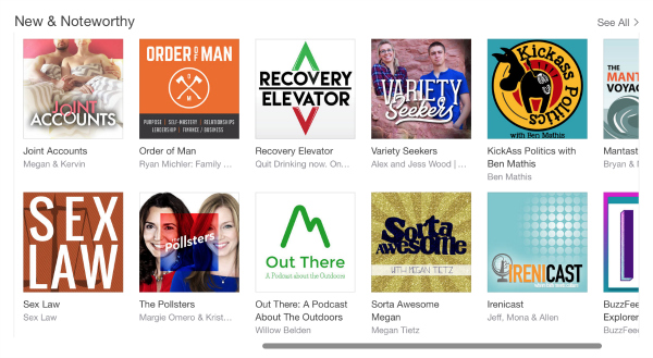 Sorta awesome new & noteworthy