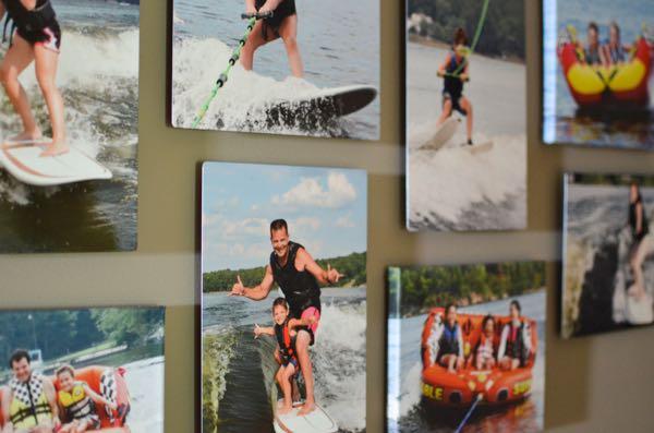 Printing photos on metal mpix collage
