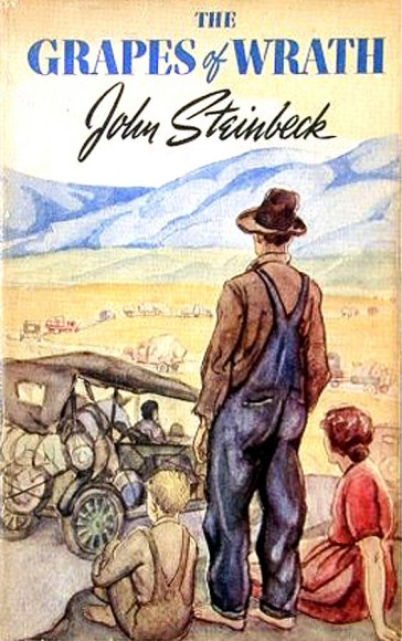 Grapes of Wrath original dust jacket