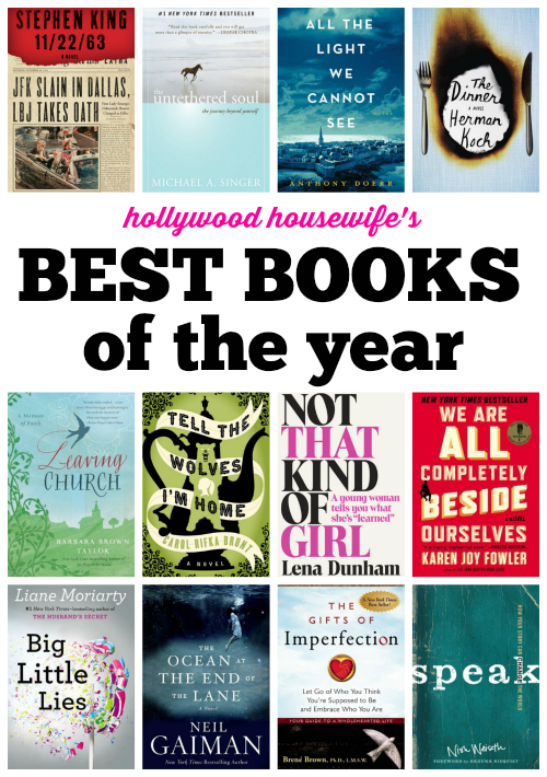 Best Books of the Year | Hollywood Housewife