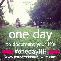 One Day at Hollywood Housewife